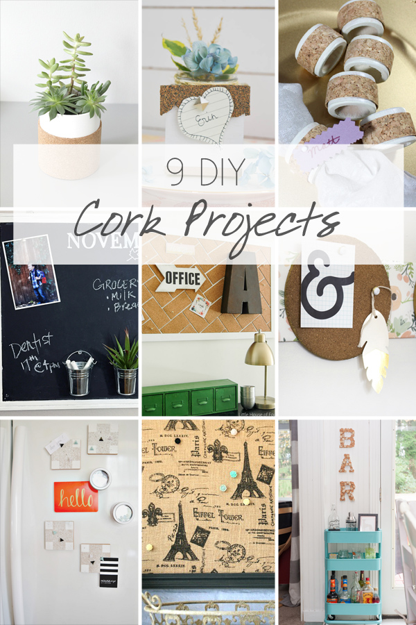 9 DIY Cork Projects