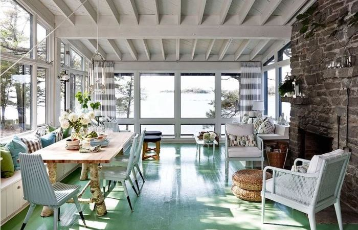 10 Exquisite Painted Floors