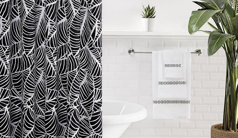 25 Stylish Shower Curtains Under $50