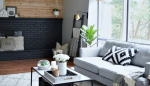 A Modern, Affordable Living Room Makeover
