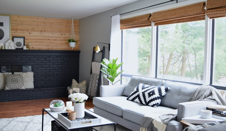 A Big Living Room Makeover On A SMALL Budget