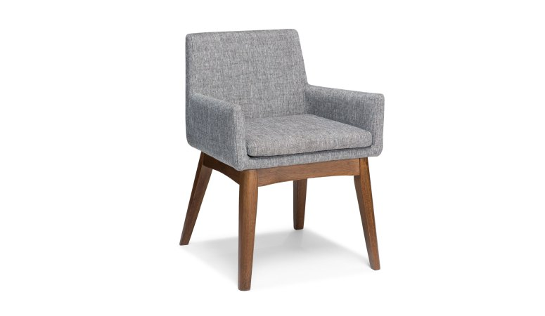 Article Chanel Volcanic Grey Dining Armchair