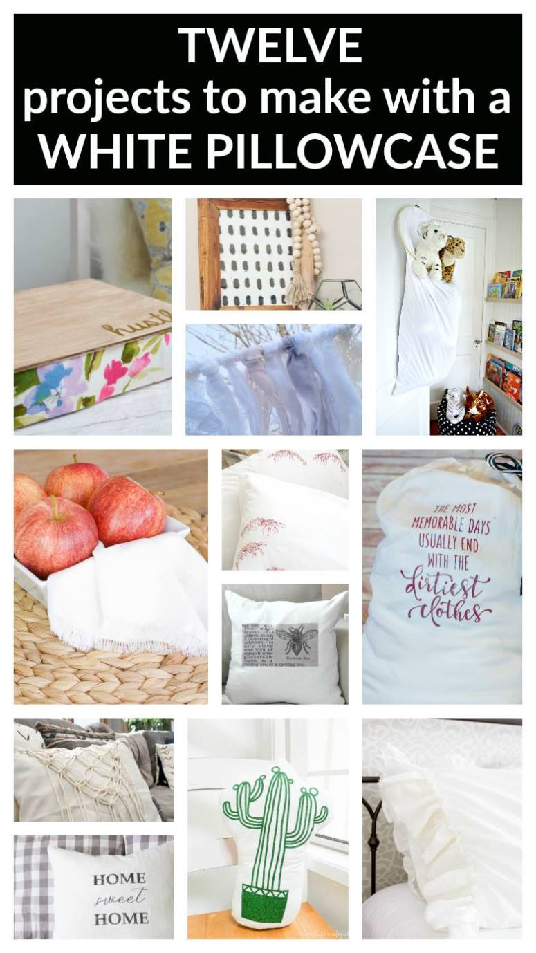 12 DIY Pillowcase Ideas!