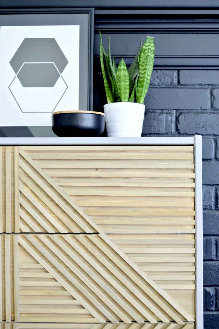 DIY IKEA Rast Makeover with FAT Paint Co.