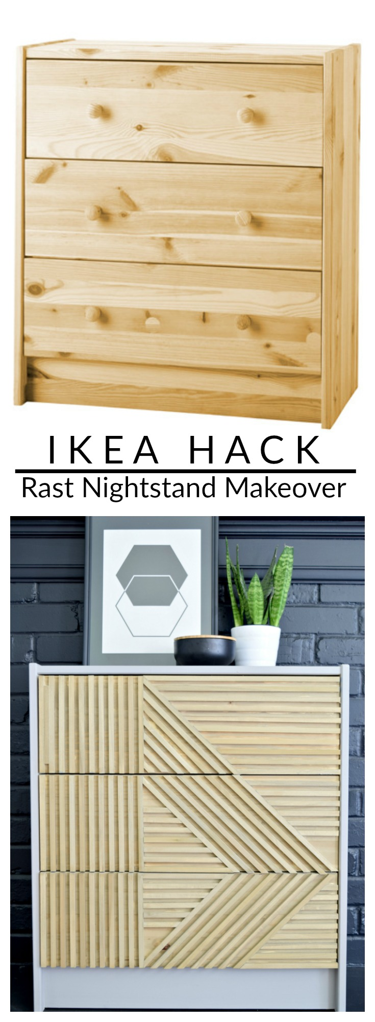 WOW! Best IKEA Rast hack I've ever seen!!