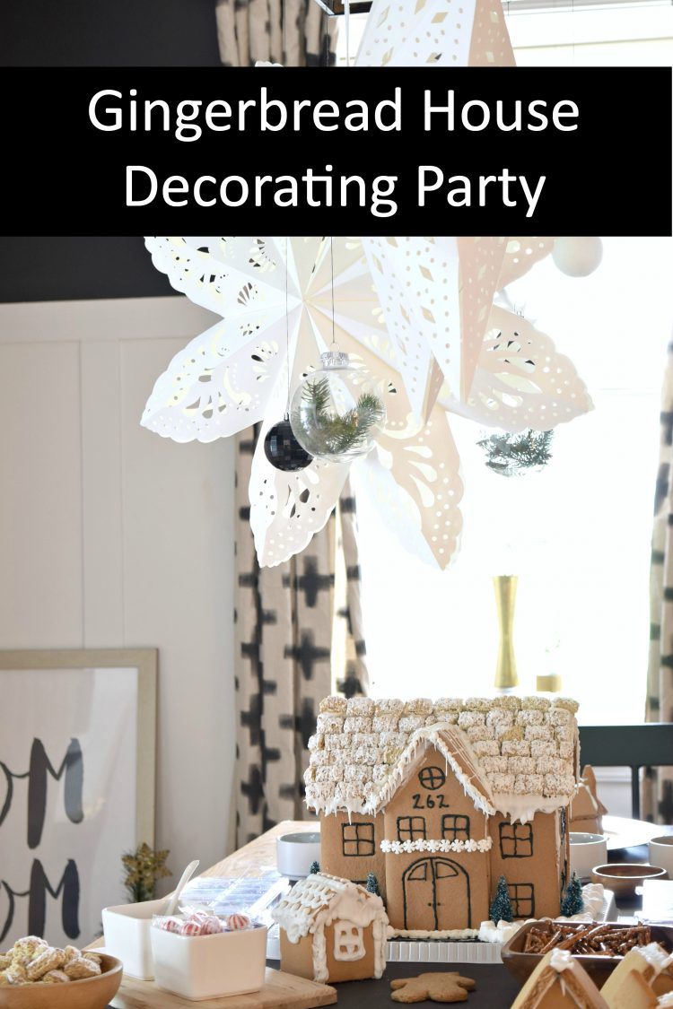 How to host your own gingerbread house decorating party Make your own gingerbread house online