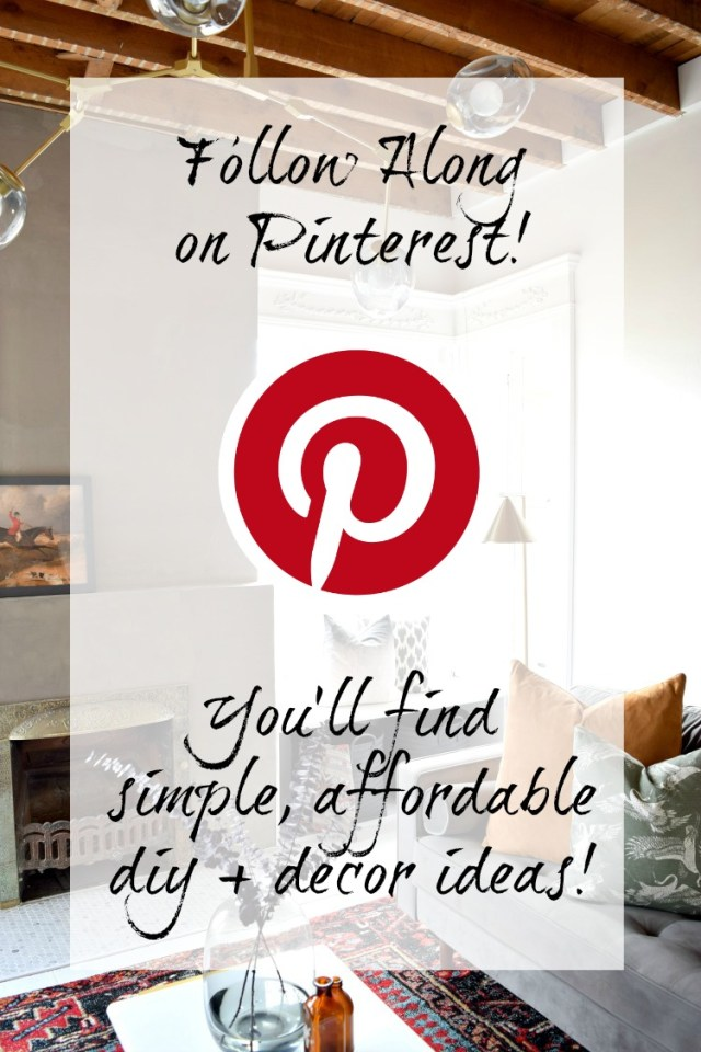 Follow Houseologie on Pinterest for inspiration from DIY to Home Decor to Recipes!