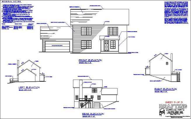 lesson drawings � house plan drafting courses
