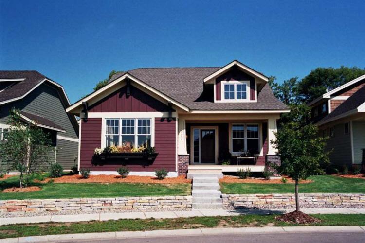 Craftsman Plan: 1,598 Square Feet, 1-2 Bedrooms, 1.5