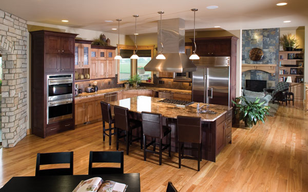 Ultimate Kitchens, Luxury Kitchens - House Plans and More on Luxury Farmhouse Kitchen  id=32664