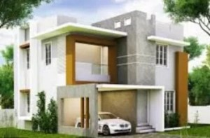 30x40 house front designs 3d elevations