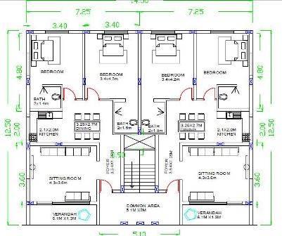 40X40 HOUSE PLANS
