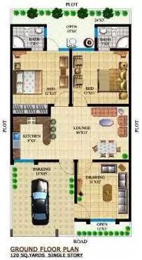 3D House Plans 2 BHK