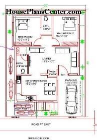 30x40 floor plan 2 BHK