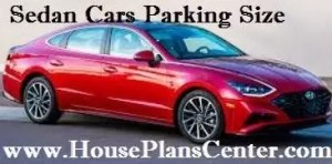 sedan car parking size