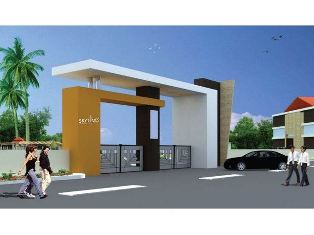 MAIN GATE DESIGN FOR LAYOUT DESIGN WORKS AT BANGALORE INTERNATIONAL AIRPORT