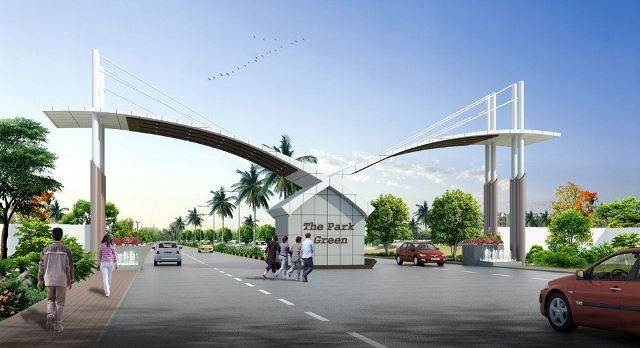 MAIN GATE DESIGN FOR LAYOUT DESIGN WORKS AT AIRPORT ROAD