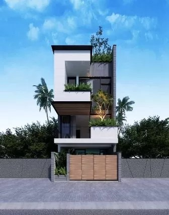 28x40 house elevation design