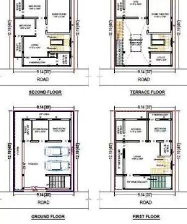 front elevation design 25x40