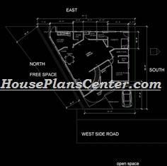 Odd shape g+1 floor plans