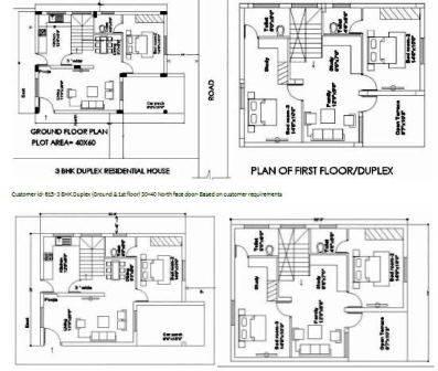 30x50 house plans