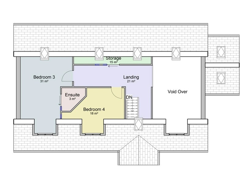 4 bedroom dormer bungalow plans