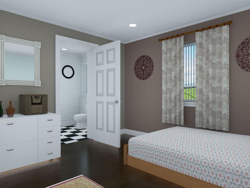 three bedroom bungalow design