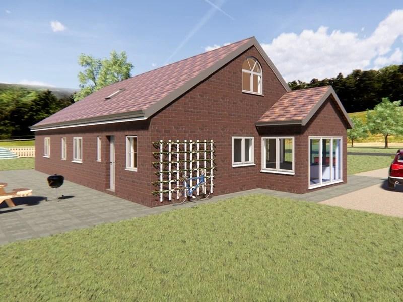 modern dormer bungalow designs
