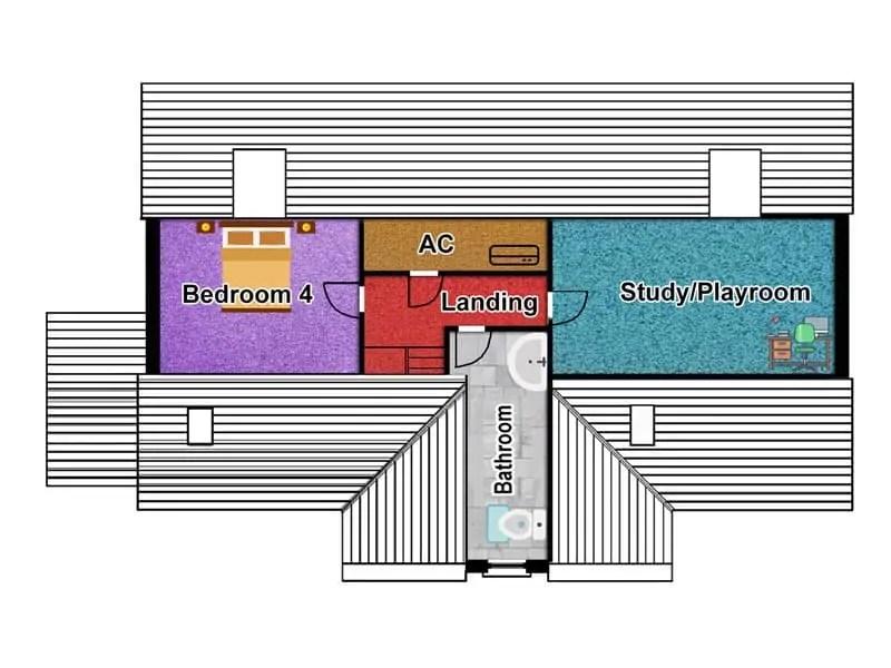 Modern Dormer Bungalow Designs The Thornbury Houseplansdirect - Dormer Bungalow Floor Plans