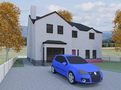 five bedroom house designs