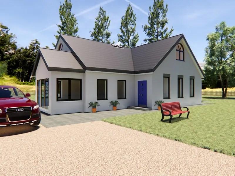 Modern Dormer Bungalow Designs: The Thornbury ...