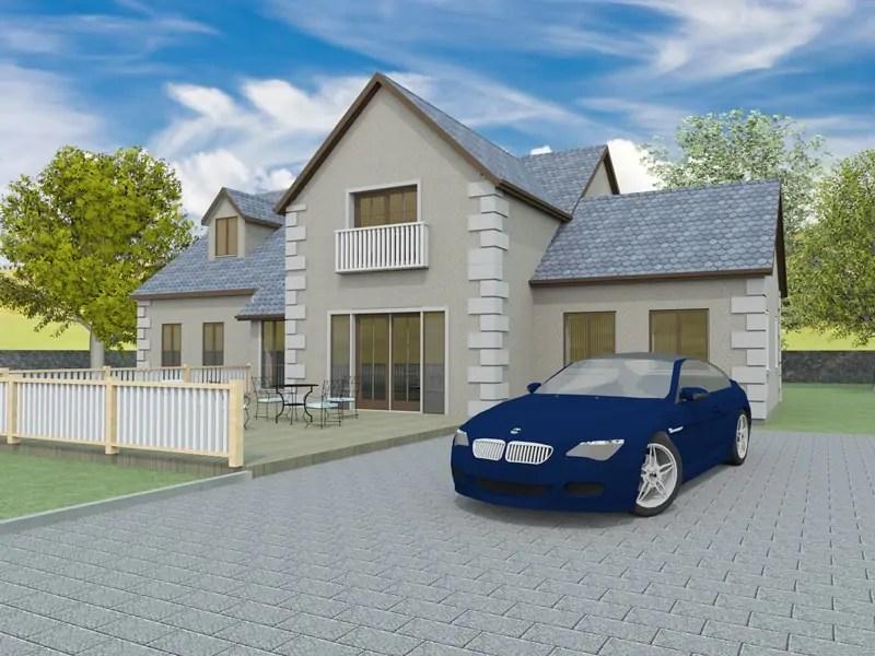 Split level house plans designs the brampton for Split level home designs melbourne