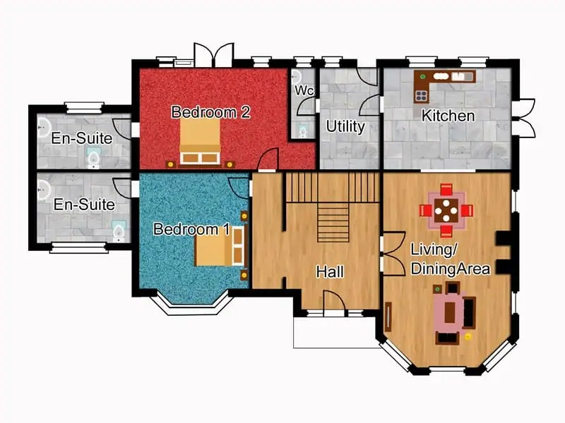 executive house plans