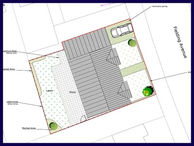 planning application site plan
