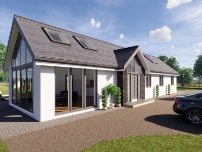 three bedroom bungalow plans