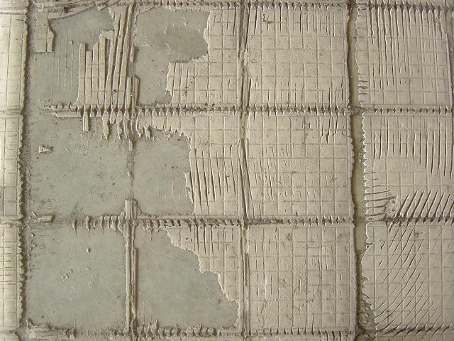 Tiles Peel Off