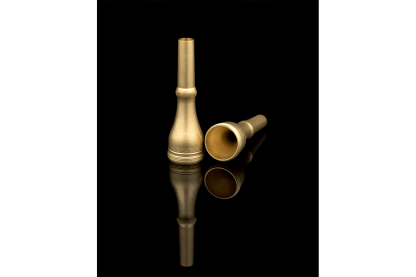 Houghton Horn 2-Piece Models in Raw Brass
