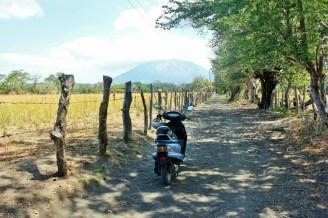 Weekend scooter ride on Ometepe Island
