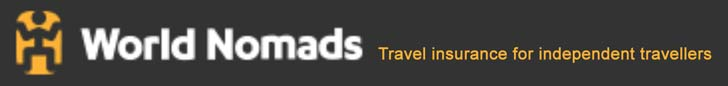 World travel insurance from World Nomads