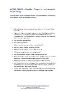 world travel checklist