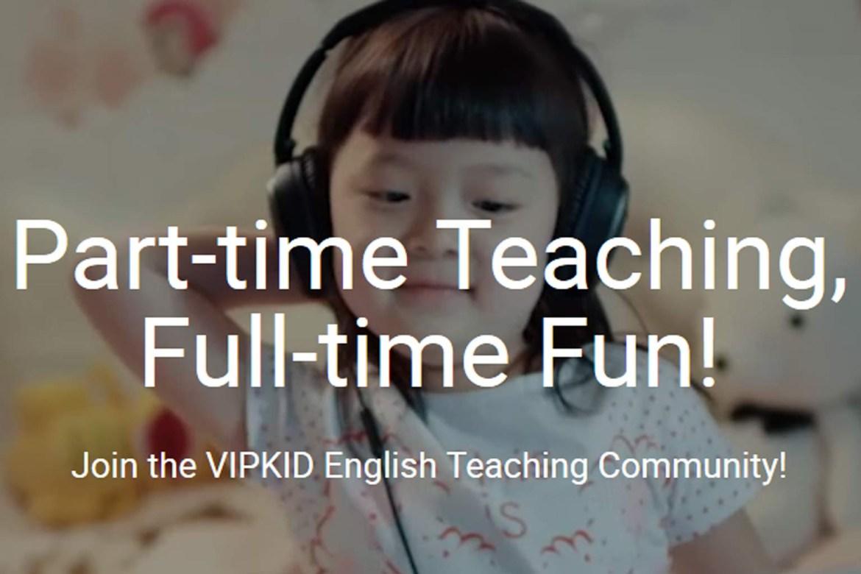 Teaching English online VIPKID