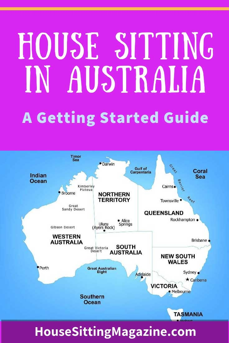 A Getting Started Guide to House Sitting in Australia - The ultimate guide to house sitting in Oz! #housesitting #housesittingaustralia #beginhousesitting #aussiehousesits