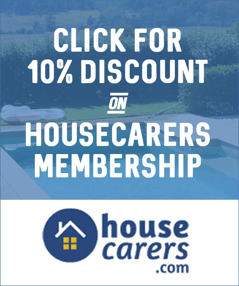 Visit HouseCarers for your 10% discount