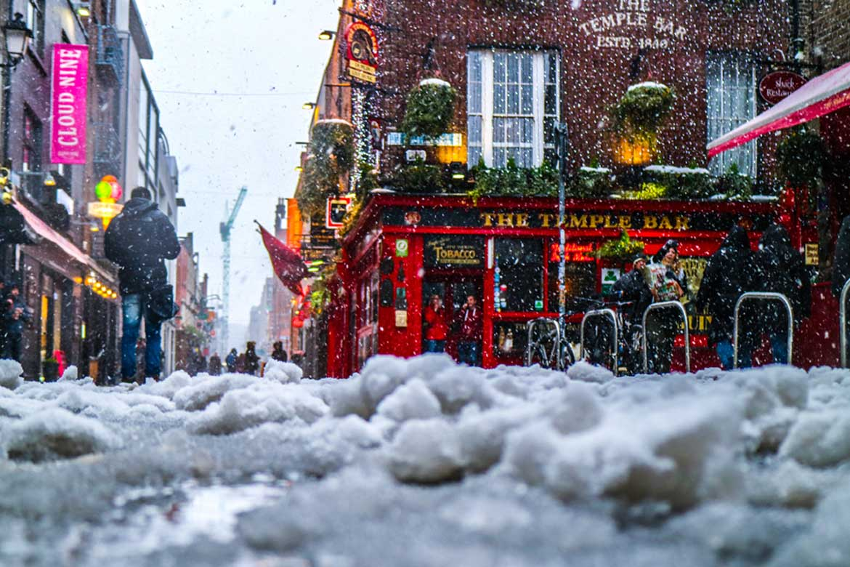 Winter scene in Ireland