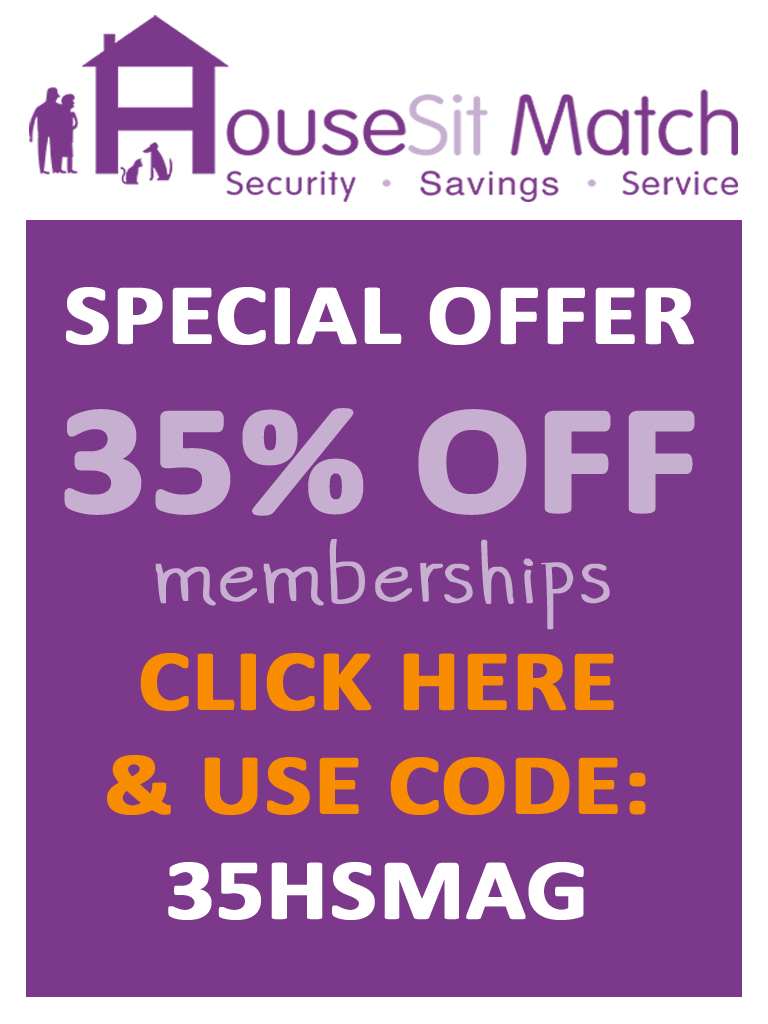 Get Your HouseSitMatch 35% discount