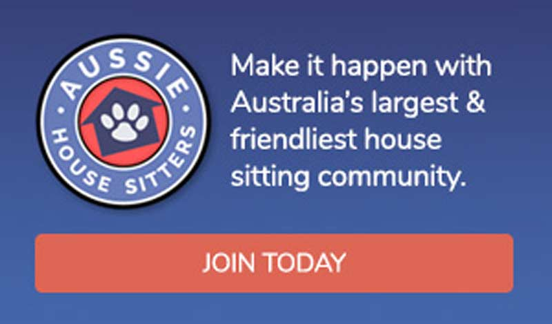 Visit Aussie House Sitters for a 15% discount code HSMAG15