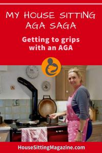 Getting to grips with an AGA while house sitting. #housesitting #agacoooker #housesittingwithanaga