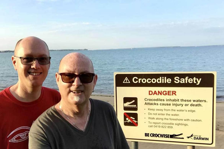 Crocodile safety while house sitting in Darwin Australia