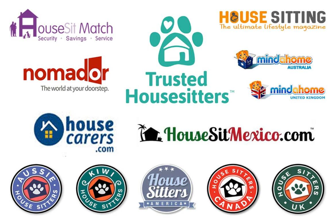 Best House sitting websites logos