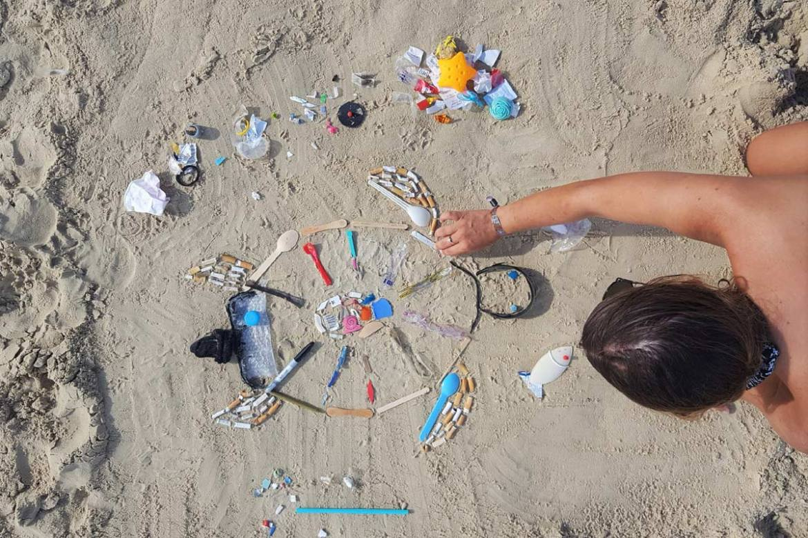 beach clean up in Australia
